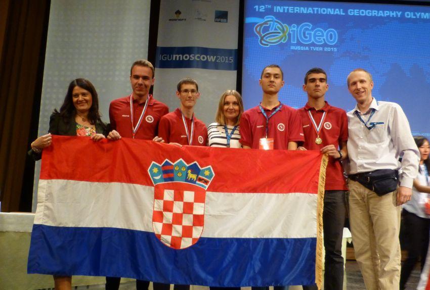Hrvatski geografski olimpijski tim